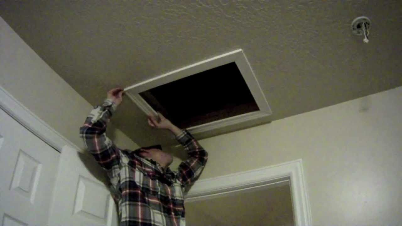 How To Install An Attic Access Door For Insulation Dream