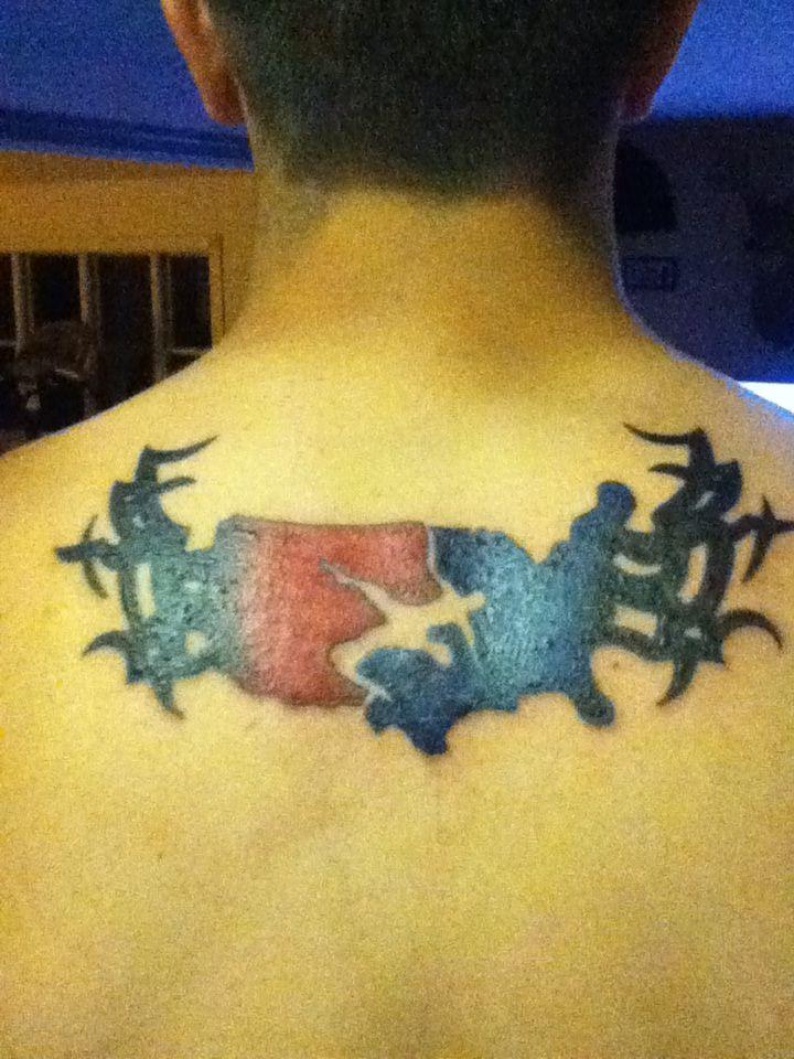 My Tattoo Usa Wrestling Symbol With Tribals Tattoos Pinterest