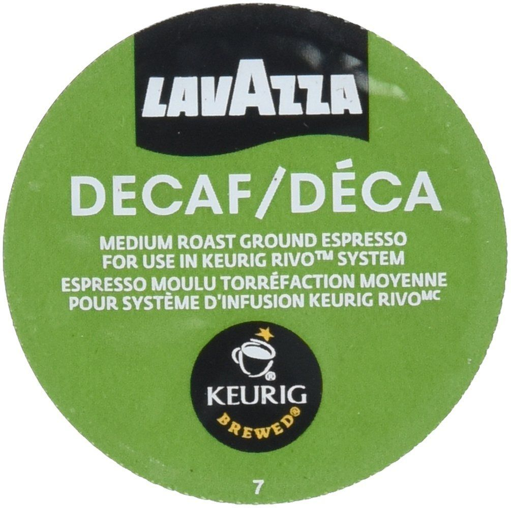 Lavazza Espresso Decaf Keurig Rivo Pack ** You can find