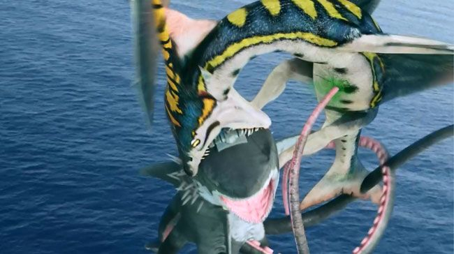 sharktopus vs pteracuda trailer sharknado blows compared to syfys latest monster movie sharktopus