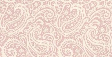 Kinward (PW78030/5) - Baker Lifestyle Wallpapers - An elegant all over paisley design wallcovering with a hand painted effect. Shown here in off white and pink. Other colourways are available. Please request a sample for a true colour match.