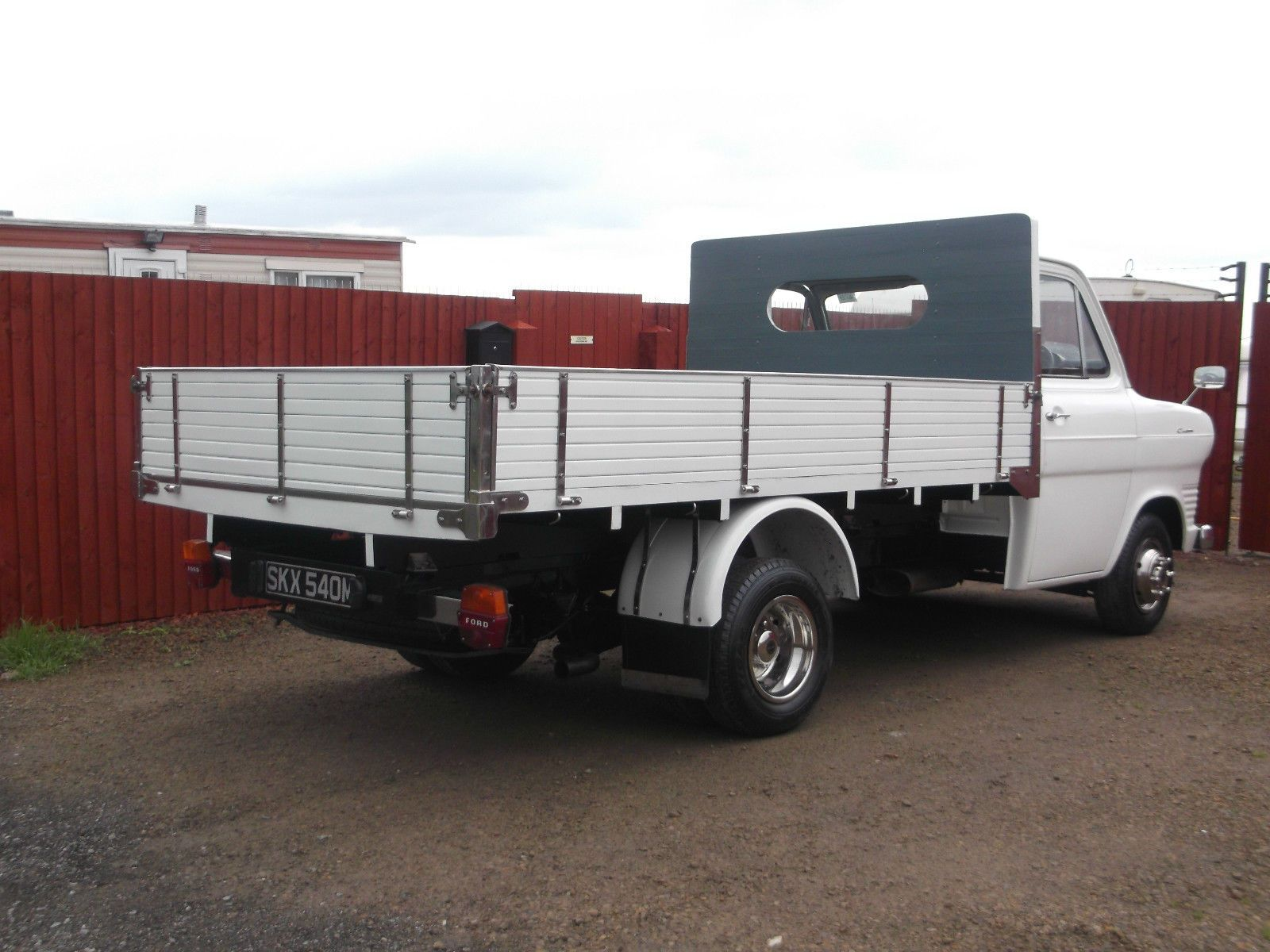 Classic Transit Mk1 Bull Nose With 2 4 York Diesel Dropside Pickup Ready To Show Ebay Mk1 Ford Transit Classic