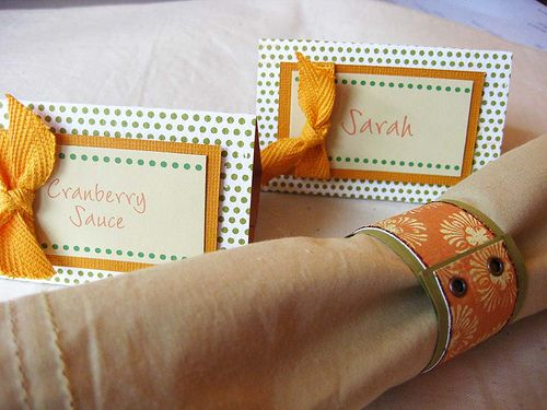 PLACECARDS FOR THANKSGIVING!