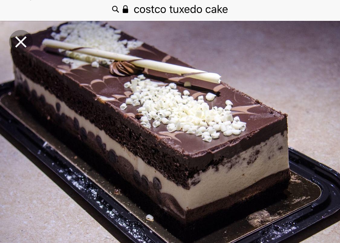 Costco Tuxedo Cake | Groceries in 2019 | Tuxedo chocolate mousse