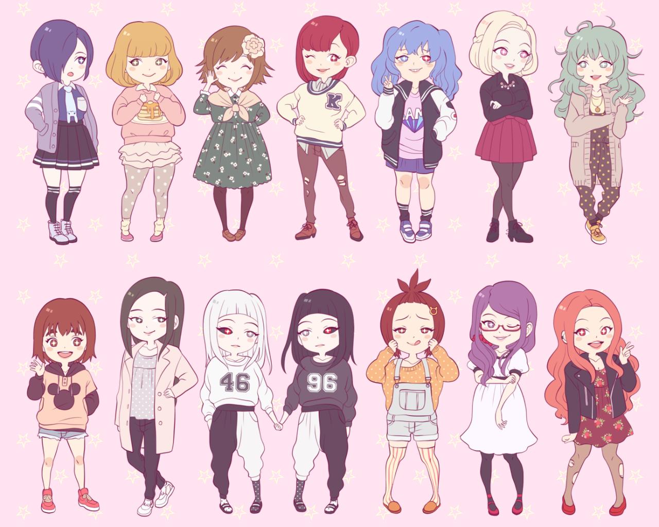 girls girls girls!!♥(✿ฺ´∀`✿ฺ)ノ