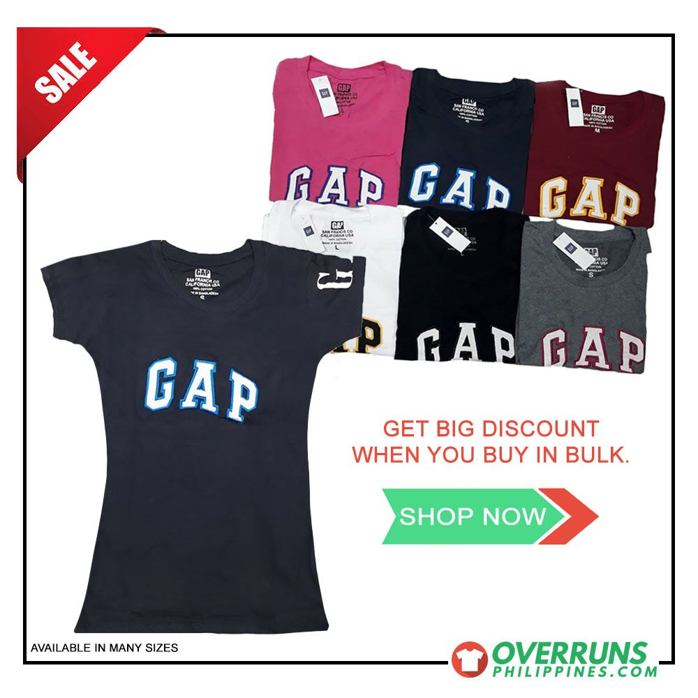 Pin by Overruns Philippines on women clothing   T shirts for