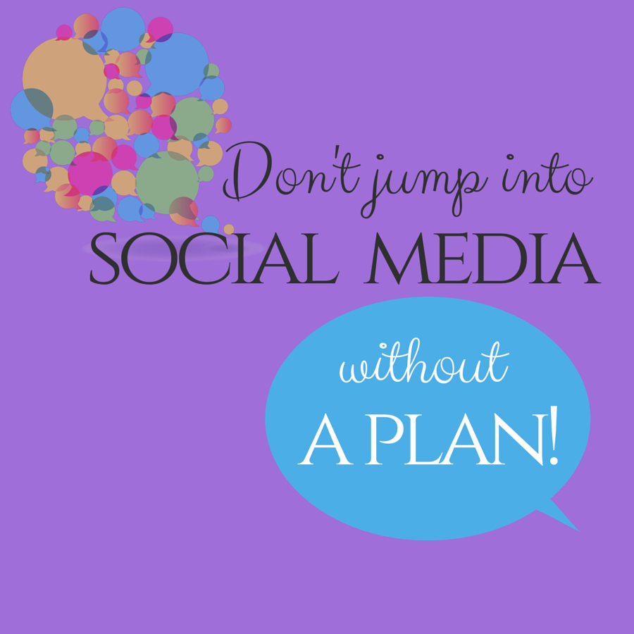 Don't put the cart before the horse, guys! Come up with a plan BEFORE jumping into social media.  ‪#‎Weblinkindia‬ ‪#‎SocialMedia‬
