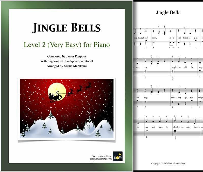 Jingle Bells Level 2 Piano Sheet Music Piano Sheet Music