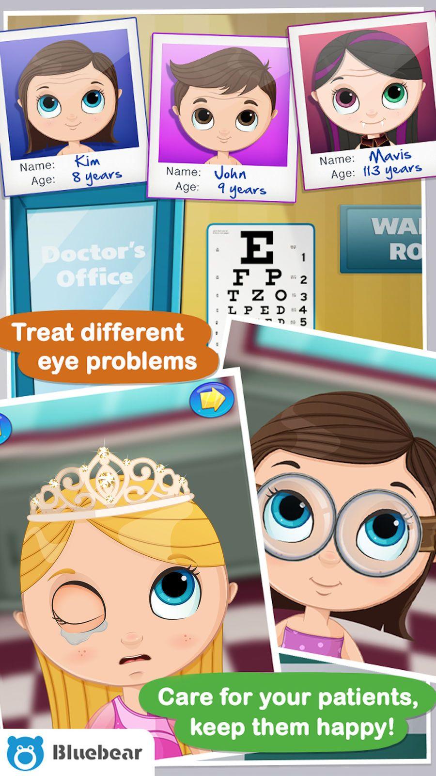 Eye Doctor Kids games GamesTechnologiesEntertainment