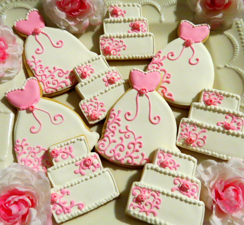 Bridal Shower Cookie Favors | food | Pinterest | Cookie favors ...