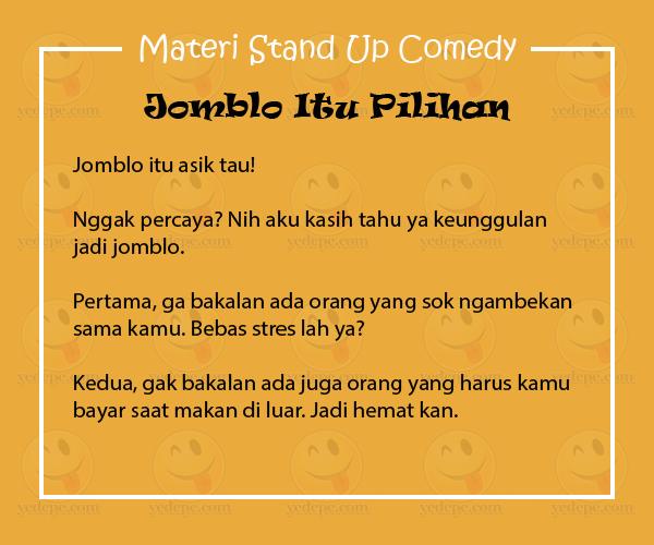 Ada Banyak Cara Menghibur Diri Agar Pikiran Tetap Waras Salah Satunya Ialah Dengan Menonton Stand Up Comedy Tentang Jomblo Kata Orang Men Stres Tertawa Tahu