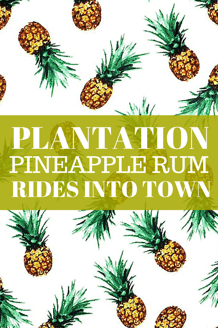 In 19th century England, pineapple rum was a sipping