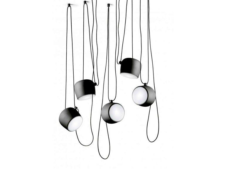 LED Pendelleuchte AIM Kollektion Consumer - Pendel by FLOS | Design Ronan & Erwan Bouroullec