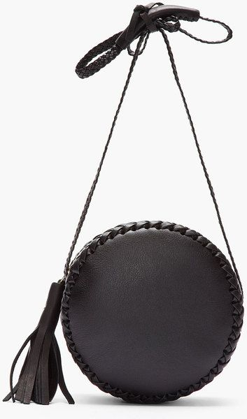 2ef3af1ad73a Marc By Marc Jacobs for Women Collection. Wendy Nichol Black Braided Leather  Canteen Bag in Black - Lyst
