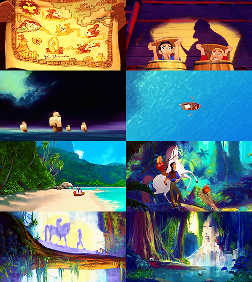 A feast of colors The Road to El Dorado The Wonderful