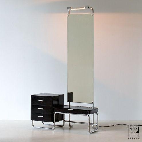 Bauhaus dressing table with mirror ZEITLOS BERLIN