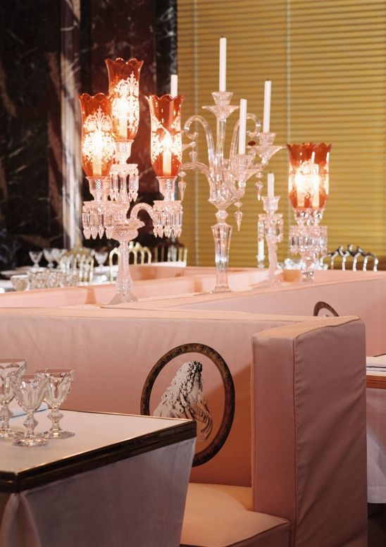 Cristal Room By Philppe Starck In Paris Crystal Room Baccarat Pretty Tables