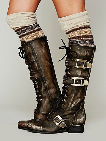 Free People Kantell Lace Up Boot