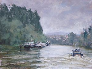 The Oise at Auvers