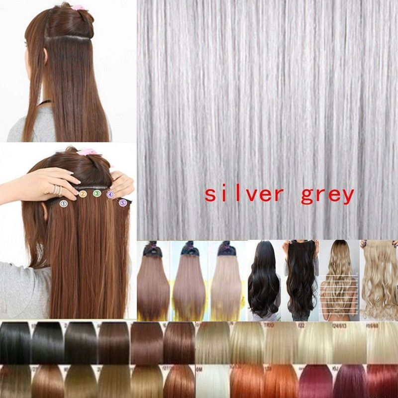 Ombre Dip Dye Hair Piece Naturally Blends Into Your Own Hair