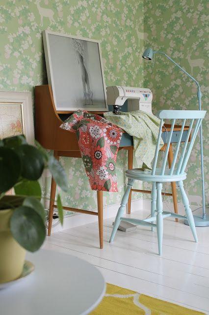 Huset ved fjorden: Gult ER kult!
