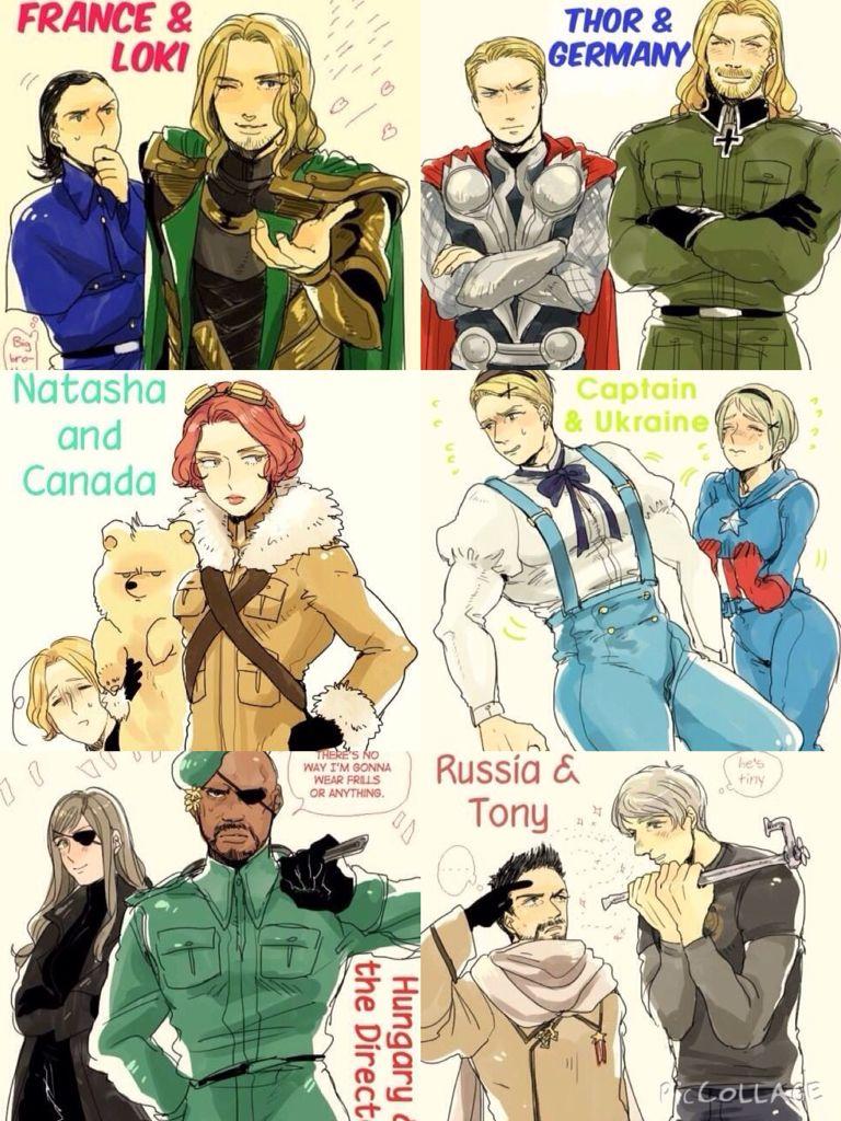 Lol I love this | Hetalia and Avengers, Marvel | Fan ...