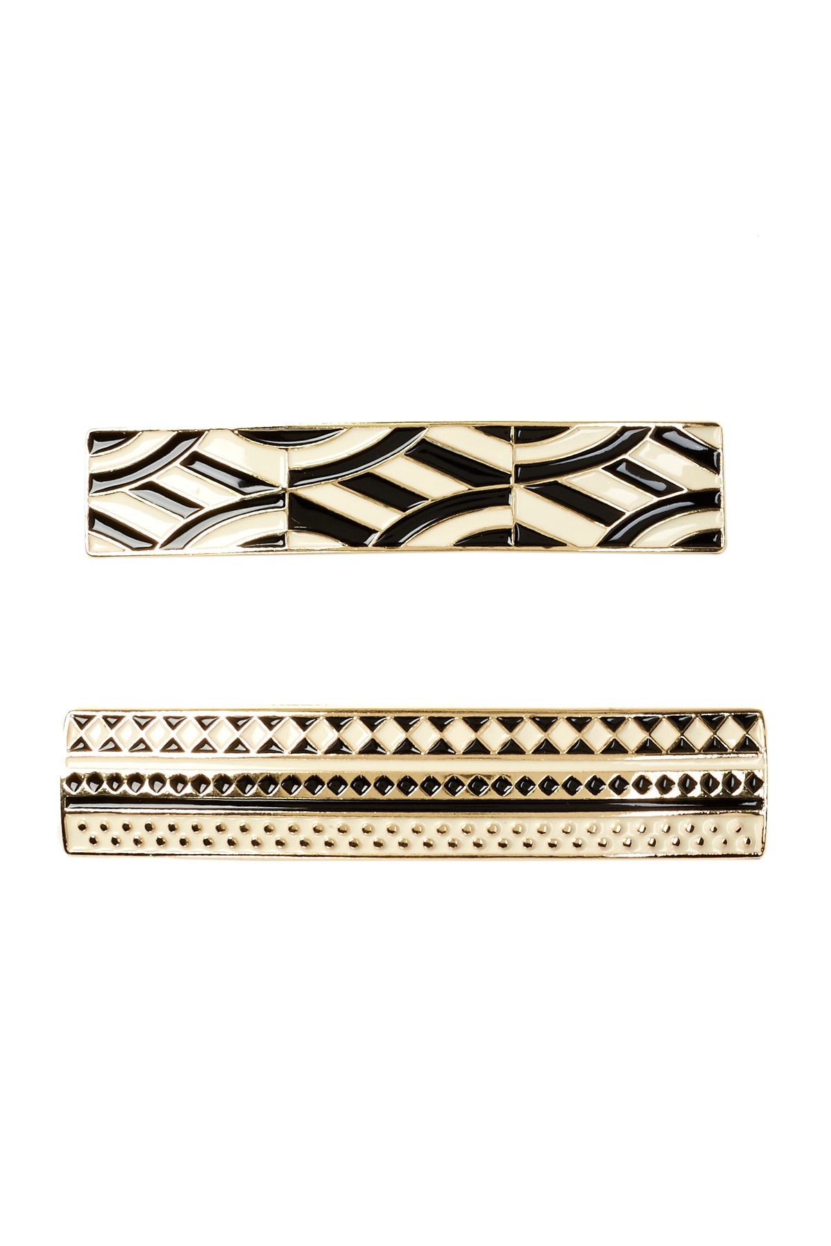Enameled Barrette - Set of 2 by Berry Jewelry on @nordstrom_rack