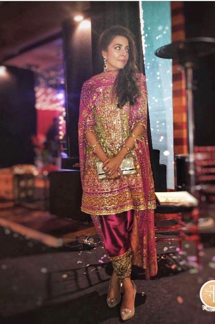 Dress for wedding party female  Pin by Puja Kalia on Indian outfits  Pinterest  Desi Party wear