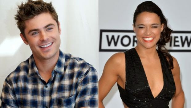 Chatter Busy: Zac Efron And Michelle Rodriguez End Romance