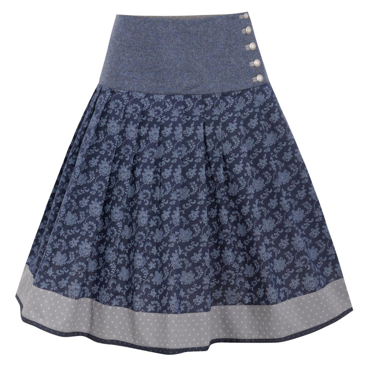 So Hubsch Ist Der Blaue Trachtenrock Von Hammerschmid So Einfach Zu Kombinieren So Bequem Was Will Frau Mehr Https Www Modestil Mode Rocke Trachtenrock