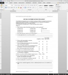 Customer Satisfaction Survey Iso Template Customer Satisfaction Survey Template Survey Template Employee Satisfaction Survey
