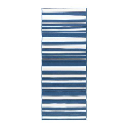 Ikea Striped Rug Runner: ALSLEV Rug, Flatwoven IKEA The Rug Has The Same Pattern On