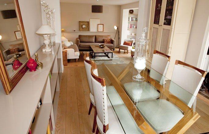 Design vintage  décoration du salon et de la salle à manger