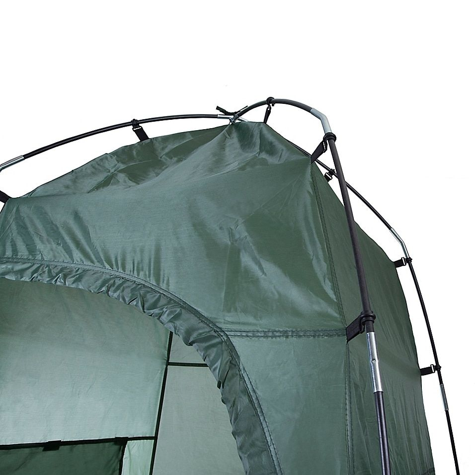 Stansport Cabana Pop-Up Privacy Shelter In Forest Green