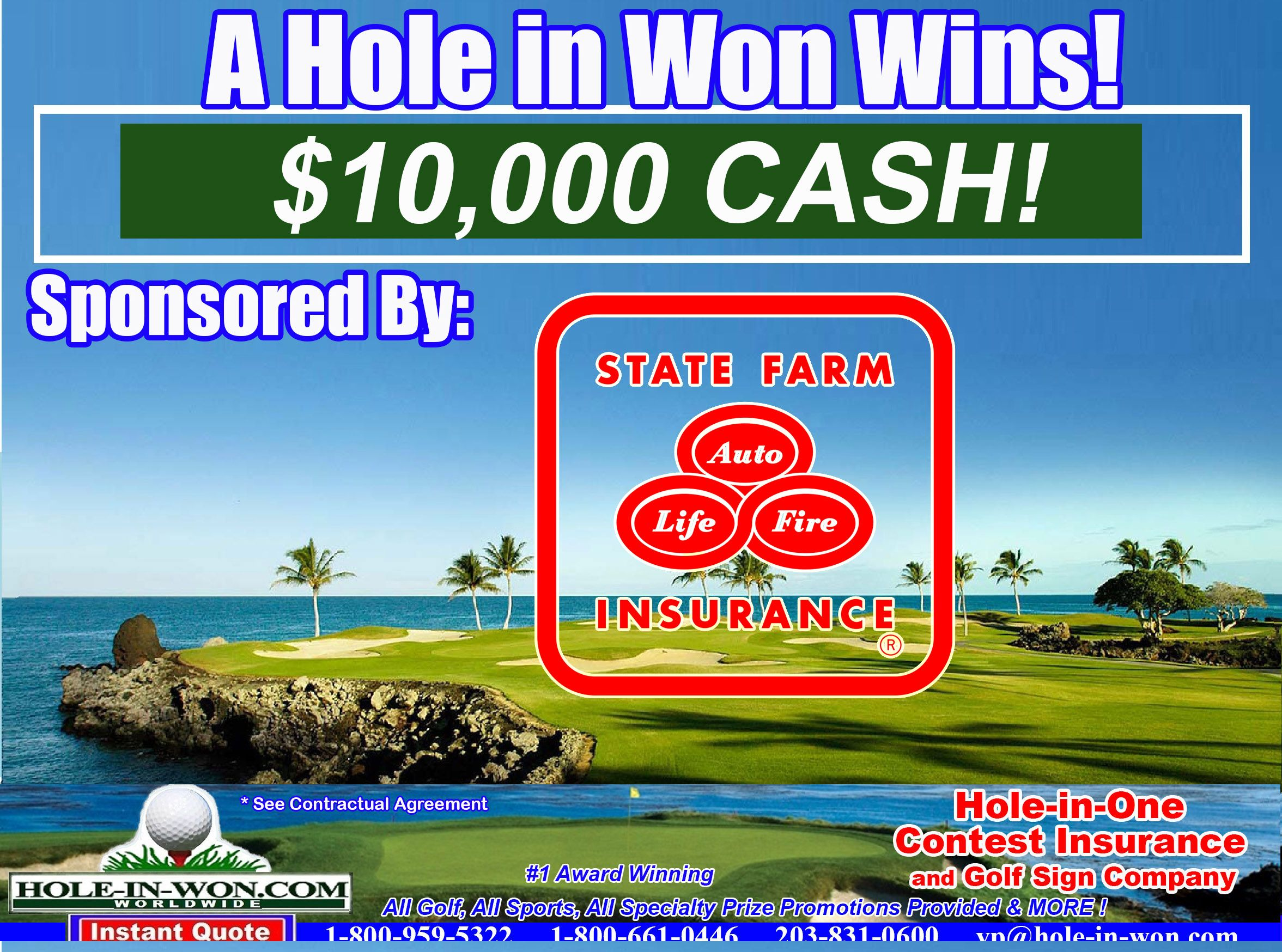 Hole in One Insurance Company American Hole in One
