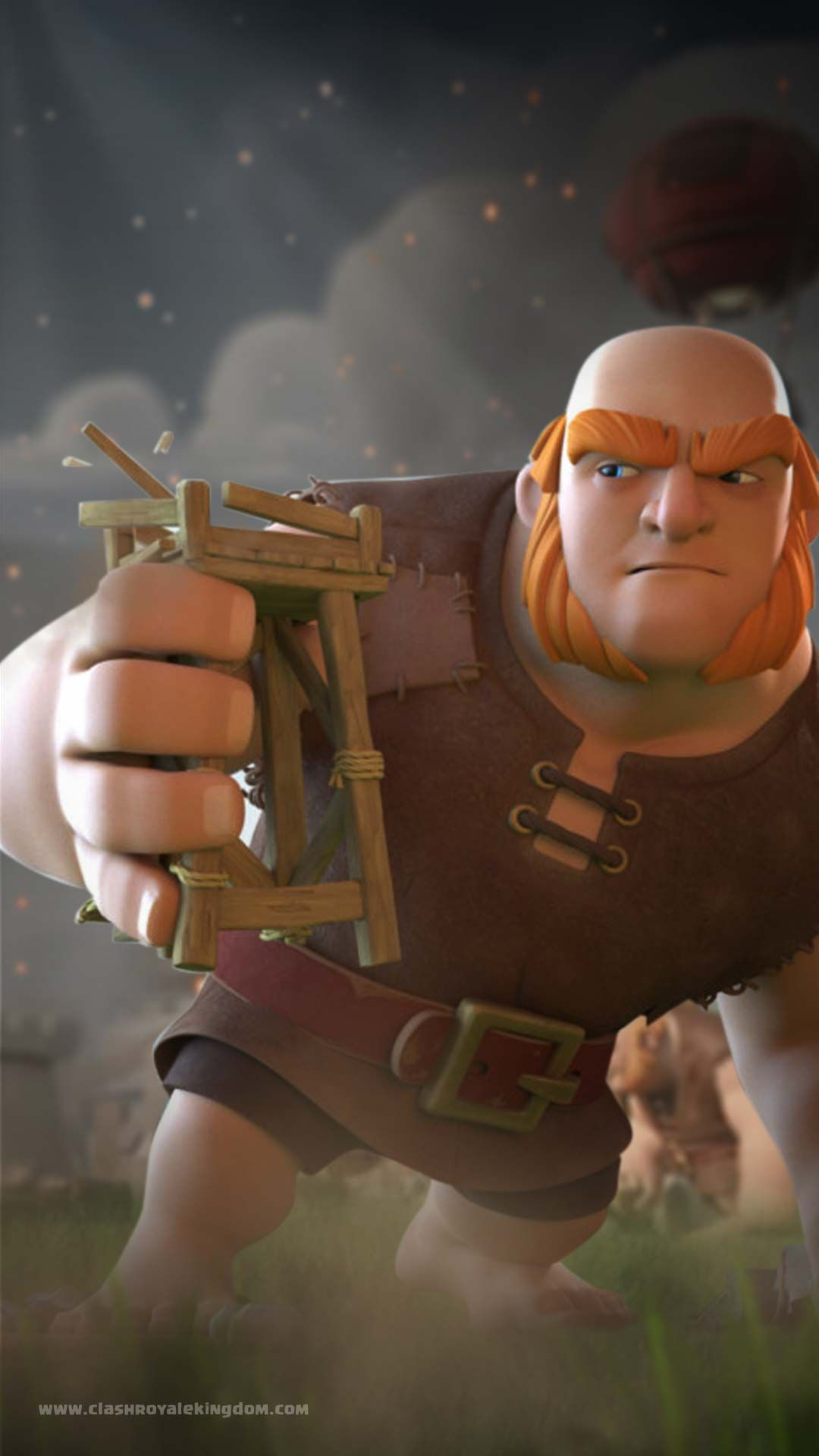 Giant Crushing Wallpaper Download High Quality Clash Royale Wallpaper Now Get It For Free Clash Royale Wallpaper Clash Royale Clash Of Clans Attacks