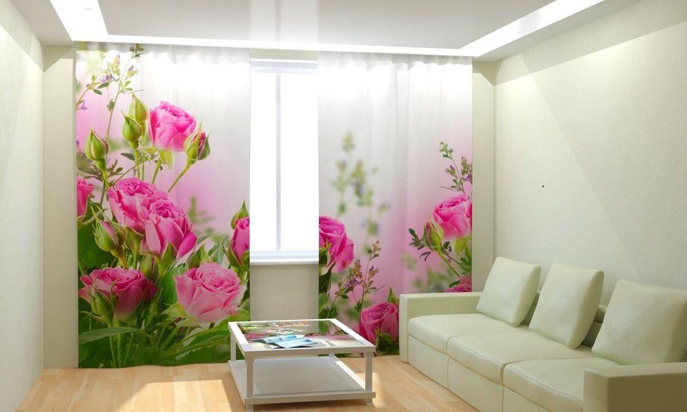 Vorhang Fotodruck fotogardine 3d foto vorhang in luxus digital fotodruck