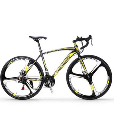303.60$  Buy now - http://alikmo.worldwells.pw/go.php?t=32726899034 - Cross-country road bikes double disc brake/Road race car/men and women/cushioning/Aluminum alloy car/tb80803 303.60$