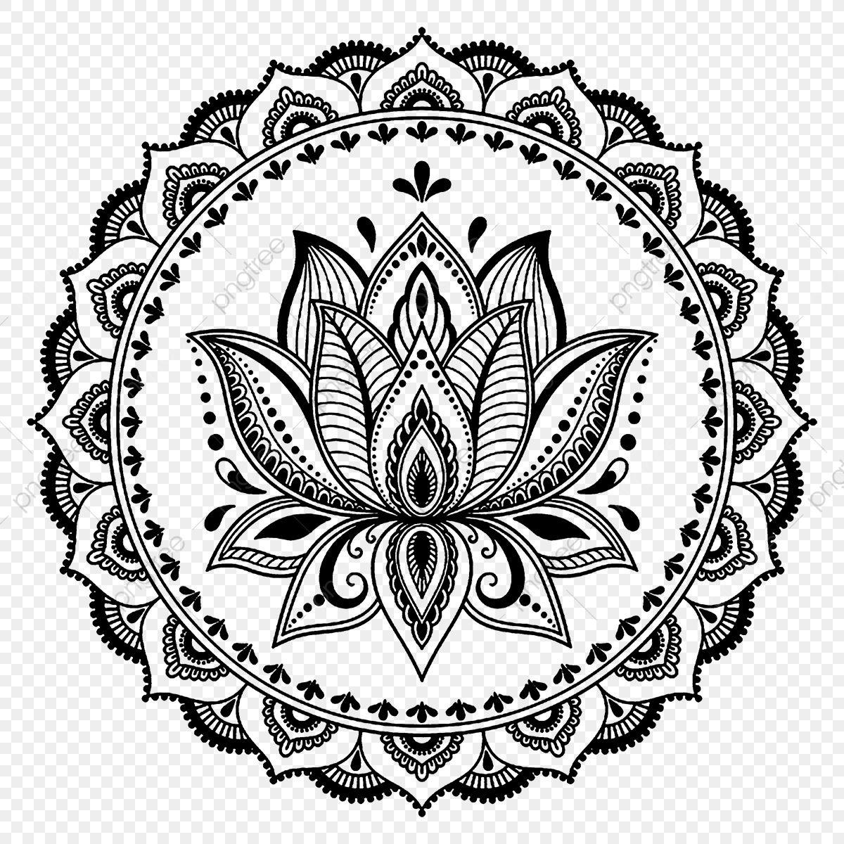 Fleur De Lotus * Tatouage, Vecteur, Des œuvres D'art