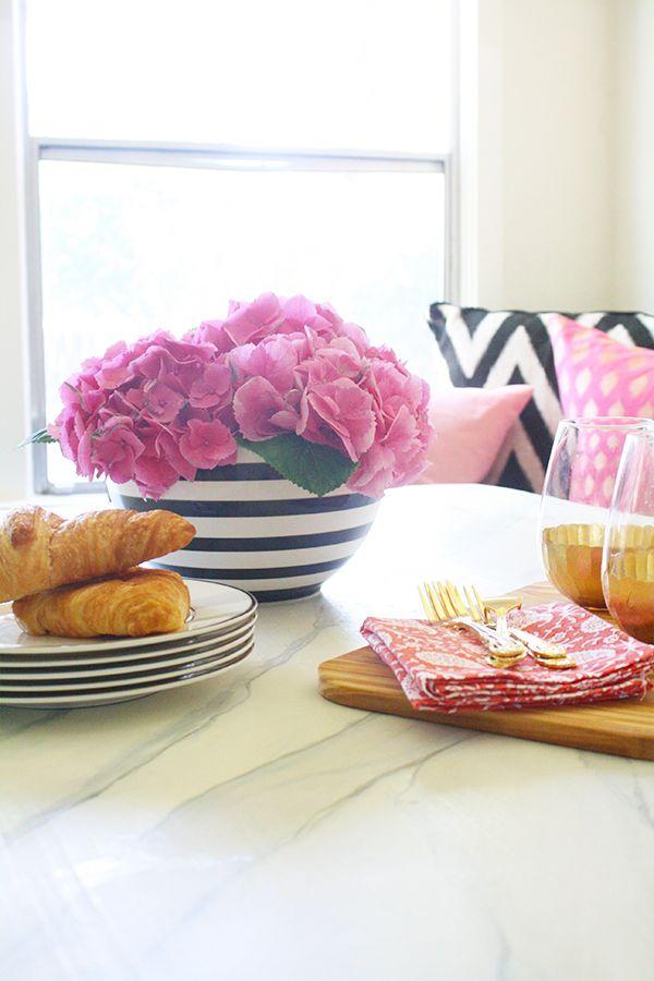 ONE ROOM CHALLENGE: WEEK SIX   Marble dining tables, Challenge week ...