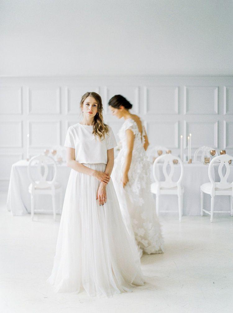 Scandinavian Wedding Inspiration By 2 Brides Photography Joy Wed Blog Fine Art Wedding Blog