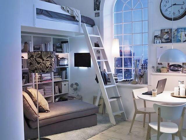 Camas en altura soluciones para espacios reducidos Apartamentos con altillo