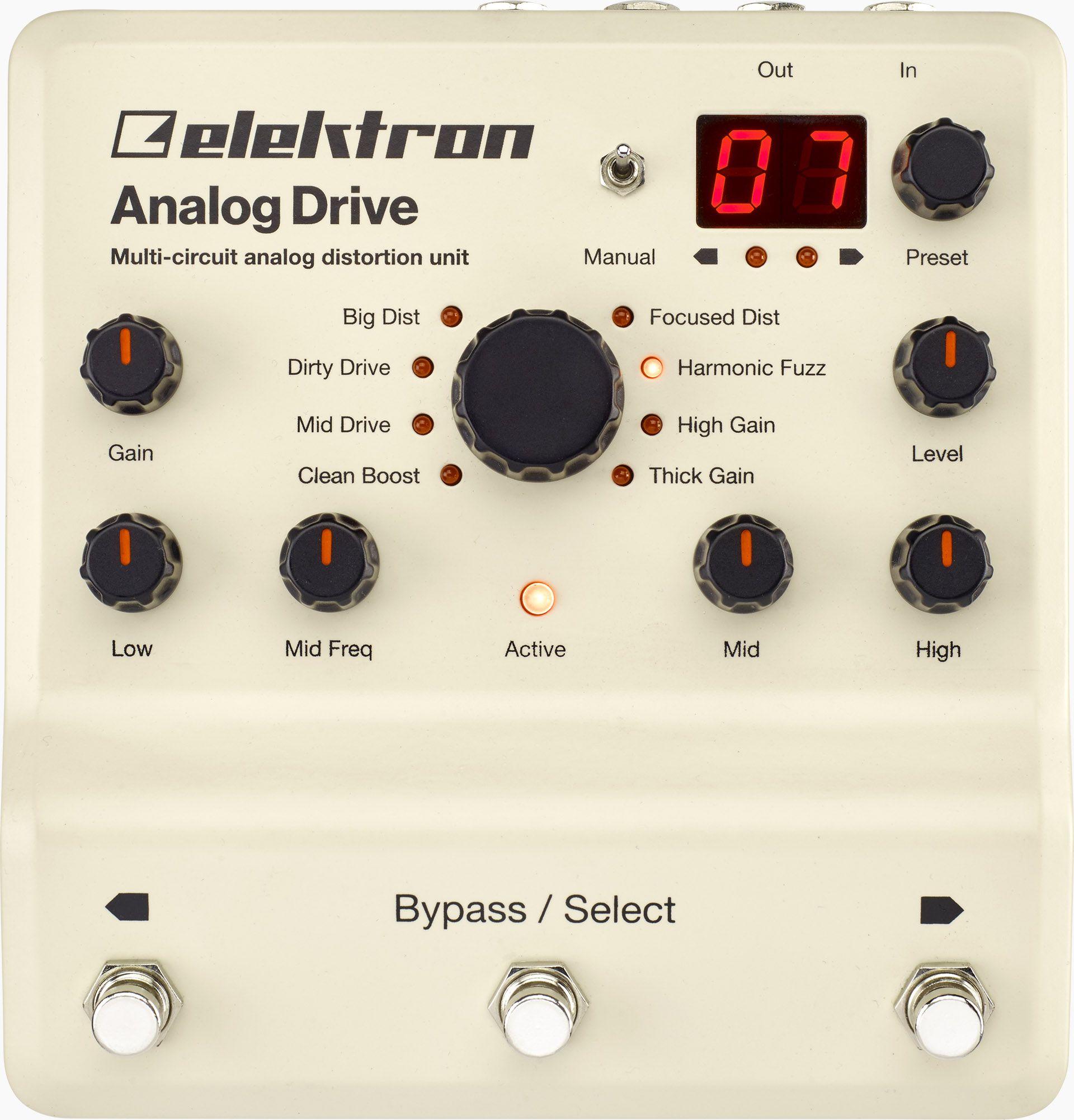 Elektron analog drive driving learn to play guitar