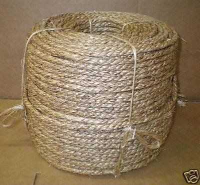 1 4 X 600 Manila Rope In Box By Tytan 35 00 When Manila Rope Is Concerned The Best Buy Is From The Philippin Cool Things To Buy Synthetic Rope Sisal Rope