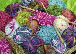 Image of product Ravensburger 13572 - Knitting Notions - 300 pieces jigsaw…