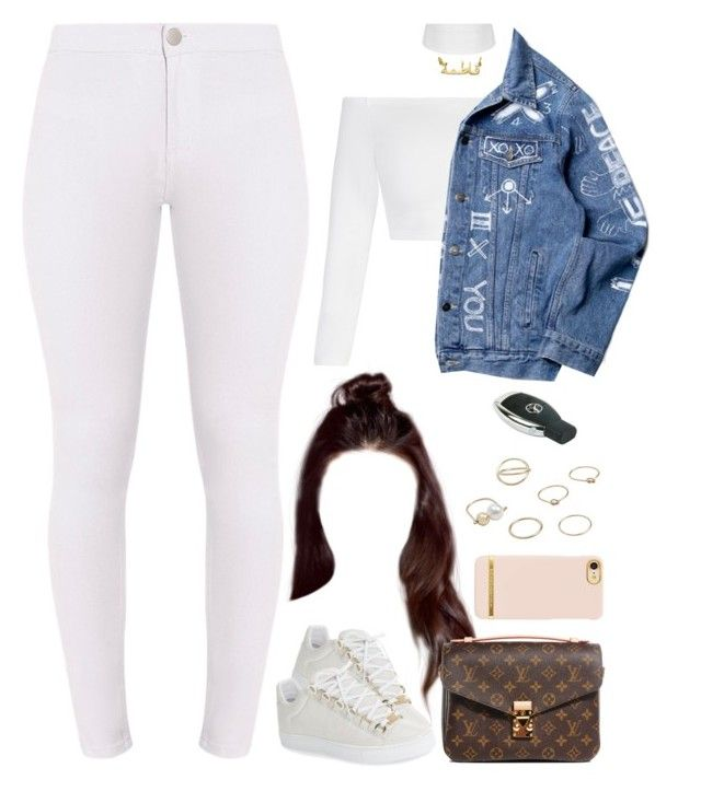 28.02.17 | 6lack | Luving U by jamilah-rochon on Polyvore featuring polyvore fashion style Balenciaga Louis Vuitton MANGO clothing