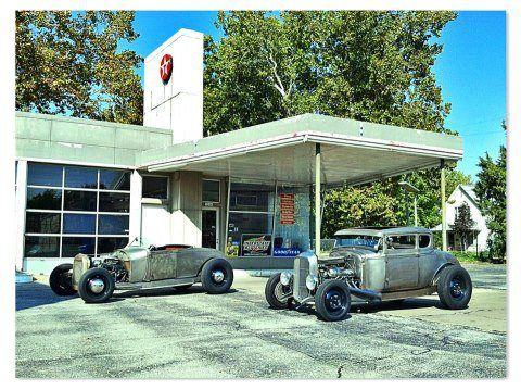 """Nick Hoesing asks, """"How about Home-built HOT RODS? Both of these cars have parts from Jegs on them."""""""