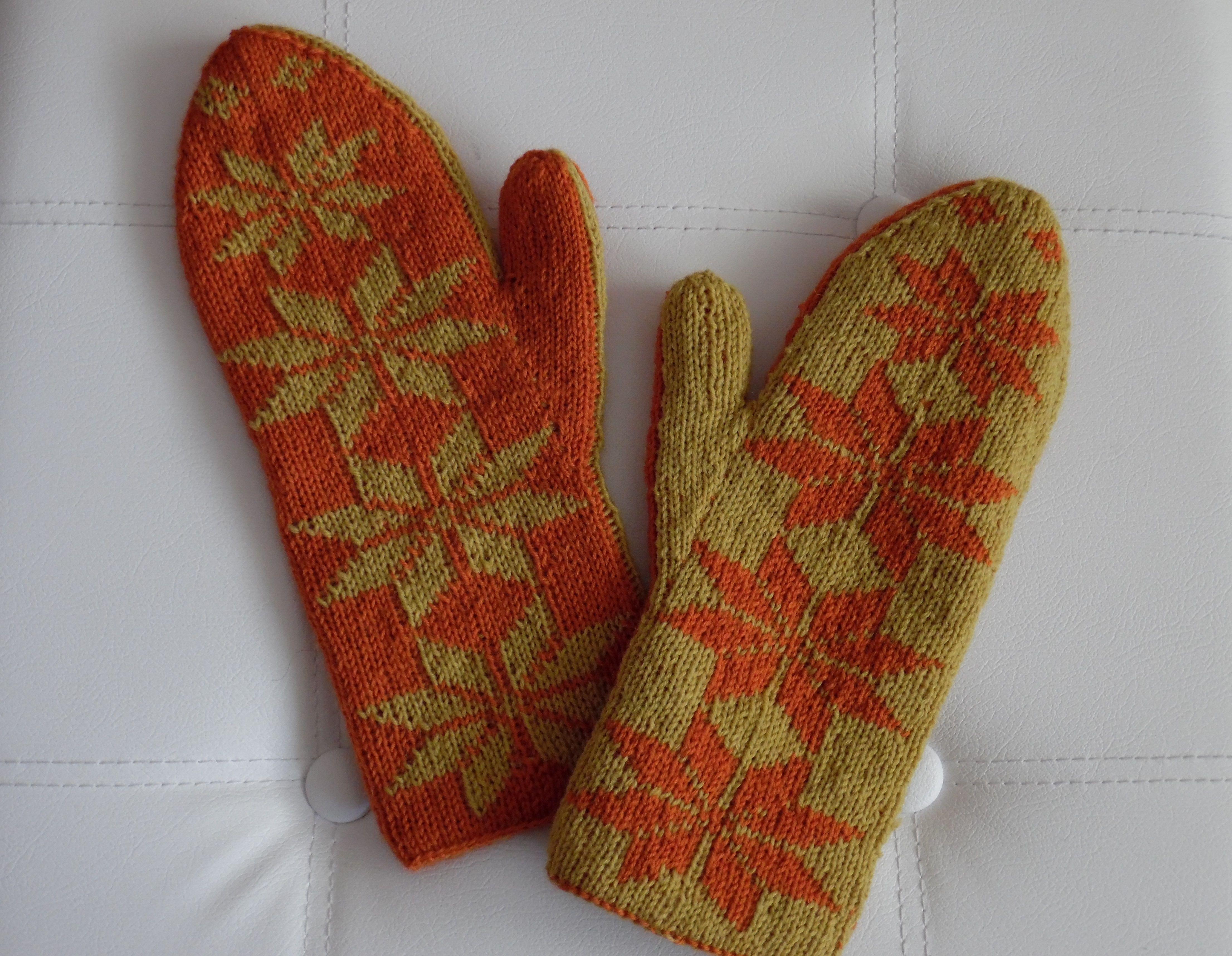 Meine ersten Doubleface Handschuhe | Stricken,Sticken und Häkeln ...