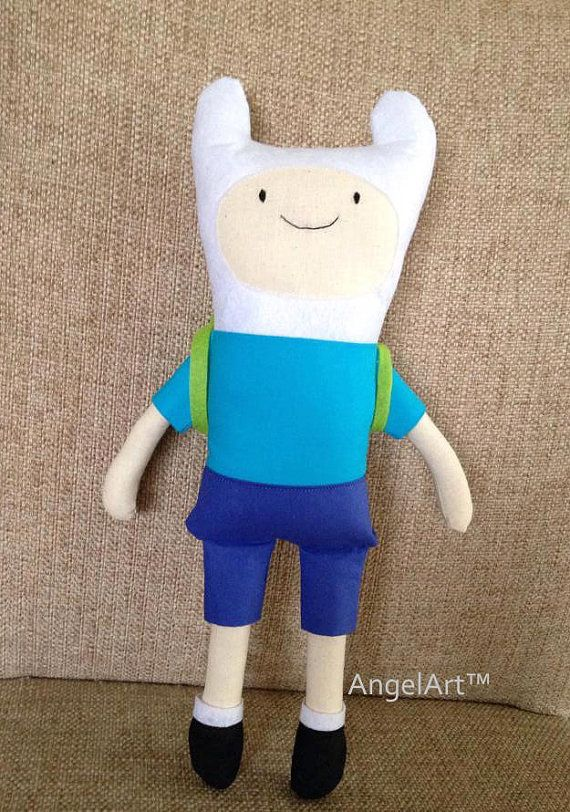 Adventure Time Finn Plush Doll....Jake in the works :)