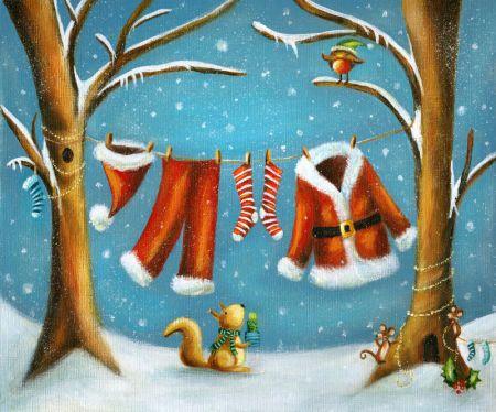 Ileana Oakley - christmas santa clothes squirrel mice robin.jpg